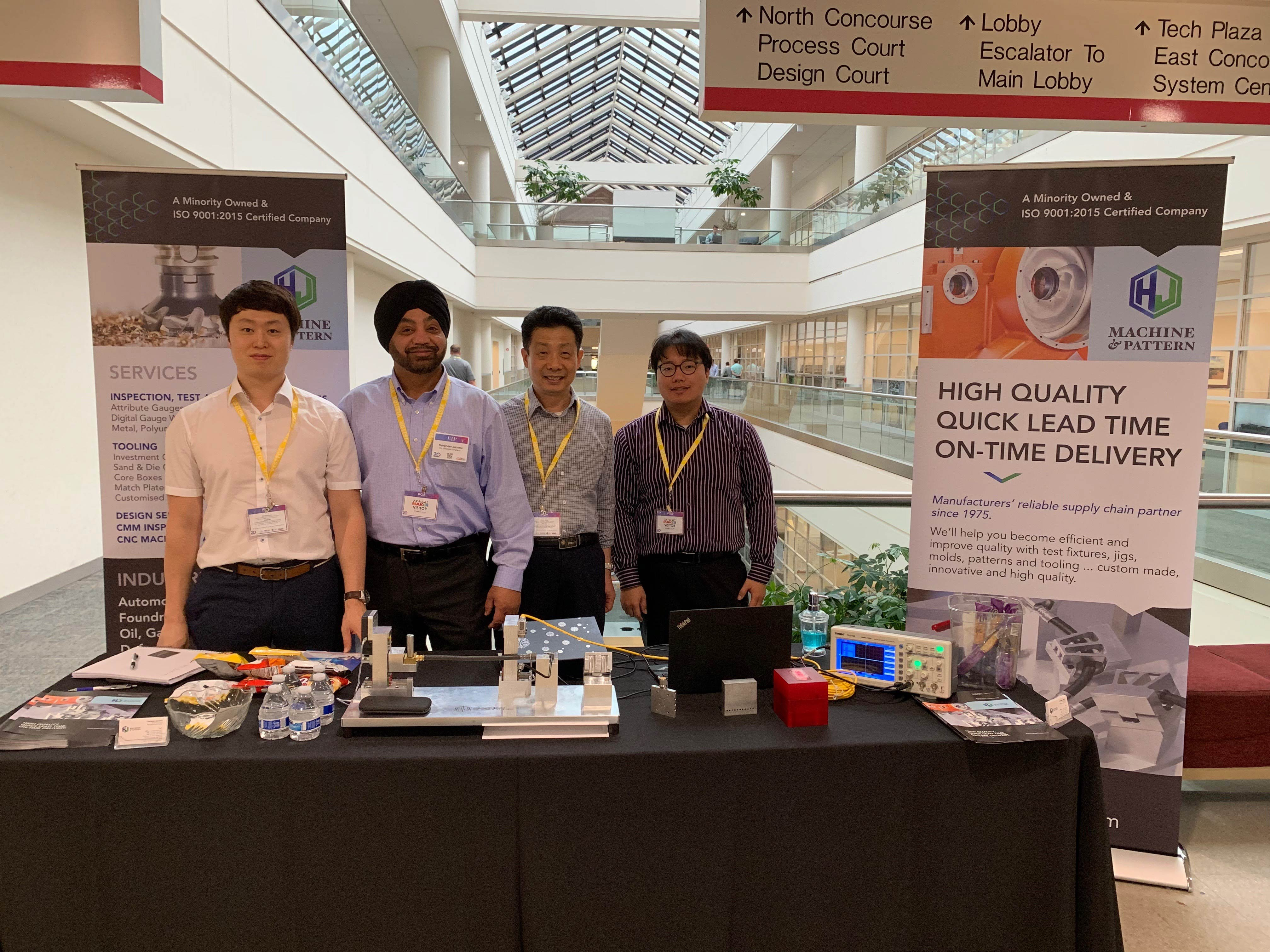 HJMP showcased its new products